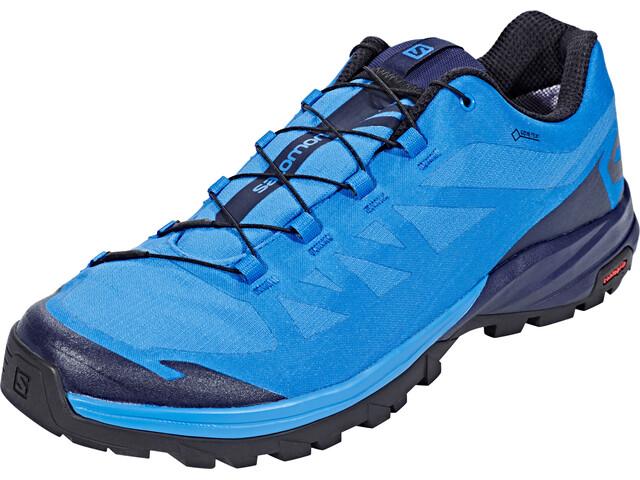 34c4ba28636 Salomon Outpath GTX Schoenen Heren blauw l Online outdoor shop Campz.nl
